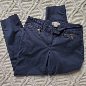 Michael Kors Navy Skinny Jeans